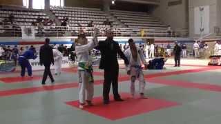 Красивая схватка - борьба Джиу Джитсу. Соревнования по бразильскому джиу джитсу