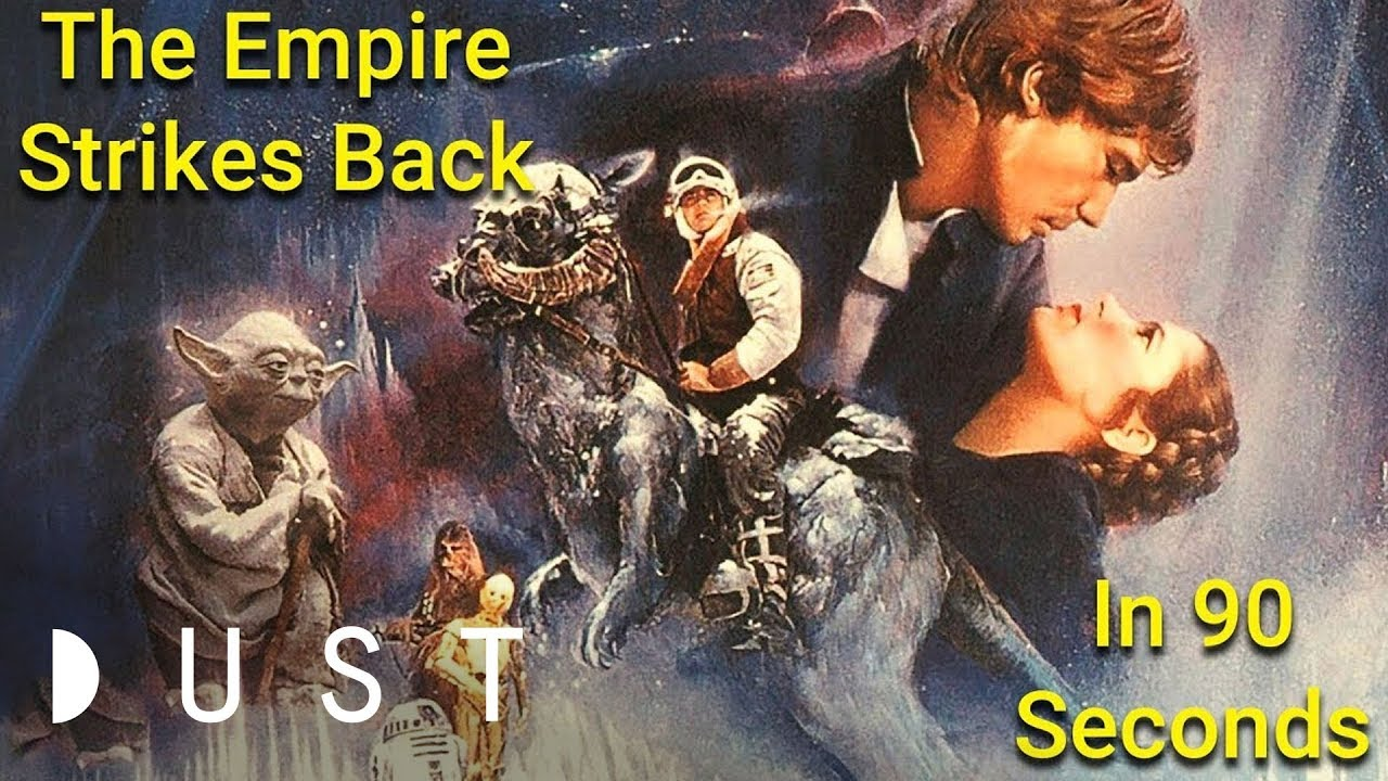 Star Wars: The Empire Strikes Back in 90 Seconds