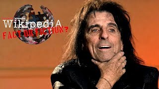 Alice Cooper - Wikipedia: Fact or Fiction?