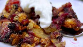 How To Make Southern Peach & Blueberry Cobbler: Recipe