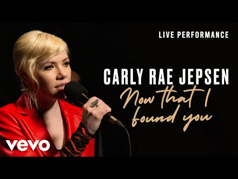 Смотреть клип Carly Rae Jepsen - Now That I Found You