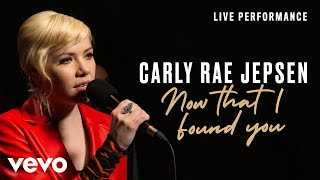 Carly Rae Jepsen Now That I Found You - Live Performance Vevo.mp3