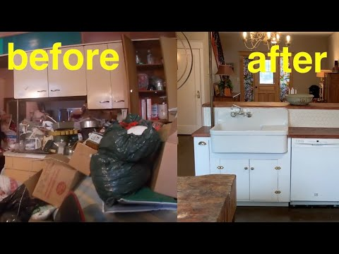 Part 20. transformation! Potters house, The Before & After