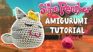 Slime Rancher Lucky Cat Amigurumi Stuffed Plush