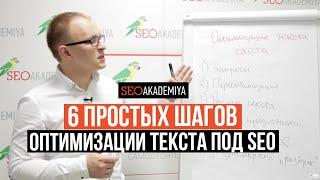видео Шаги по оптимизации сайта