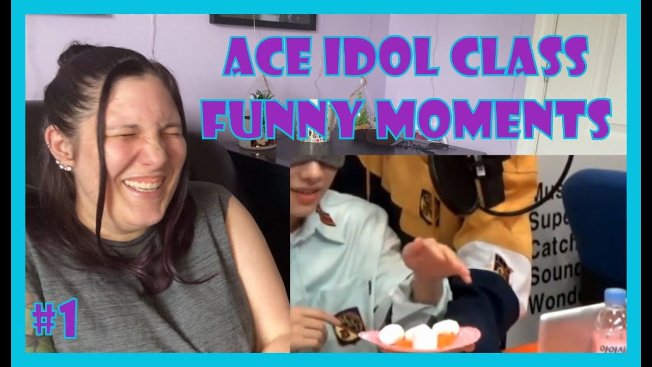 [ACE] Idol Class Funny Moments Reaction | Maggie Nicole KPOP |