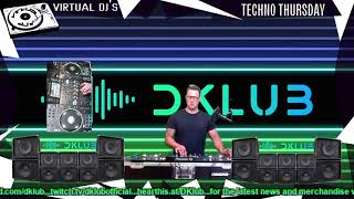 Virtual DJs Techno Thursday 2406 - DKLUB Live