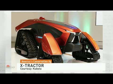 Kubota X Autonomous Zero Emissions Concept Tractor