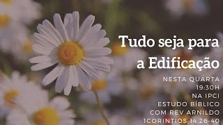 IP Central de Itapeva - Culto de Quarta - Feira - 07/10/2020