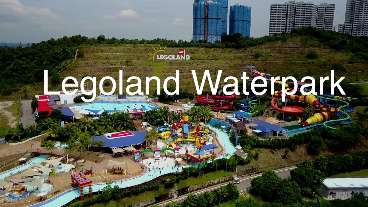 Legoland Malaysia WaterPark - Johor, Malaysia - YouTube