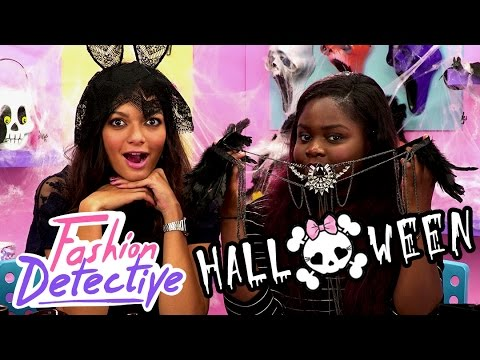 LOOK GLAM' & CHIC POUR HALLOWEEN ! [FASHION DETECTIVE #28]