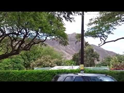diamond head waikiki zoo parking hawaii oahu honolulu 20150520 PM0256