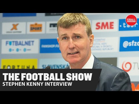 THE FOOTBALL SHOW | Exclusive Interview | Ireland Manager Stephen Kenny