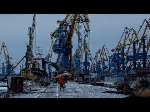 Rússia pressiona portos ucranianos