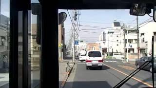 西東京バス工01系統工学院大学西経由楢原町行き前面展望動画 Route bus front View NISHITOKYOBUS kou01