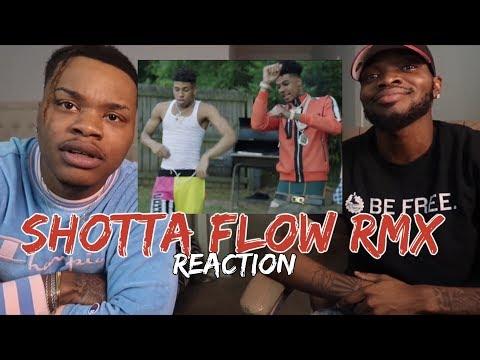 NLE Choppa – Shotta Flow Remix ft. Blueface (Dir. by @_ColeBennett_) – REACTION
