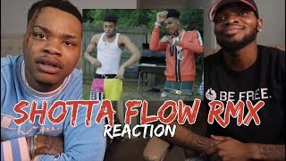 NLE Choppa - Shotta Flow Remix ft. Blueface (Dir. by @_ColeBennett_) - REACTION