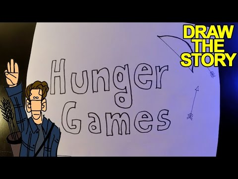 HUNGER GAMES in 6 minuti - Draw The Story