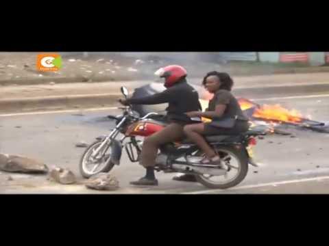 Kisumu protesters light bonfires, demand to be addressed by Odinga