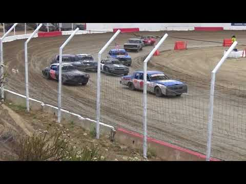 Barona Speedway Pure Stock Main 6-16-2018