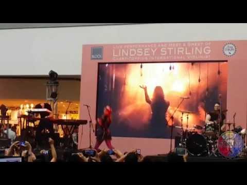 Lindsey Stirling - Shatter Me (Live Performance in Manila)