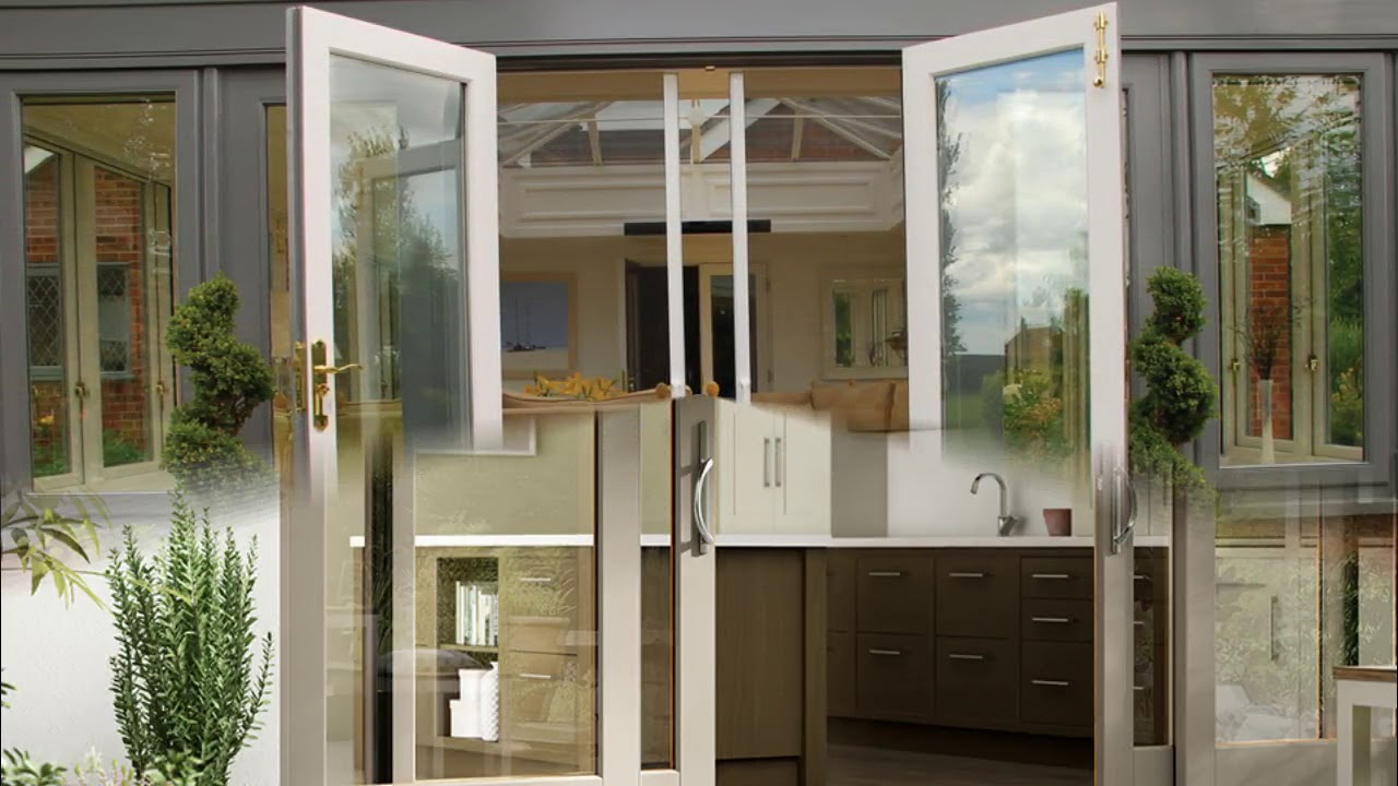 French Patio Doors with Side Windows Ideas YouTube