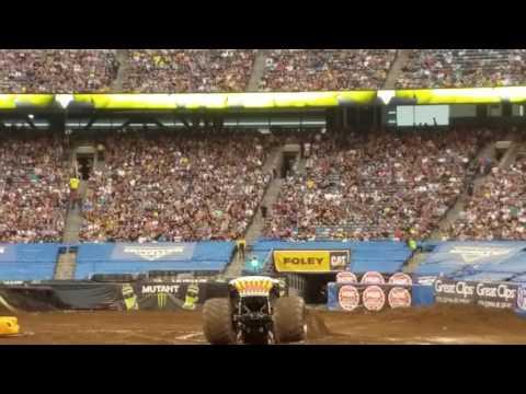 Monster Jam Hot Wheels Metlife New Jersey 2017