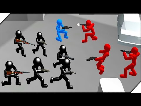 ШТУРМОВИКИ СТИКМЕНЫ - Игра Battle Simulator : Counter Stickman #3 Игры на телефон