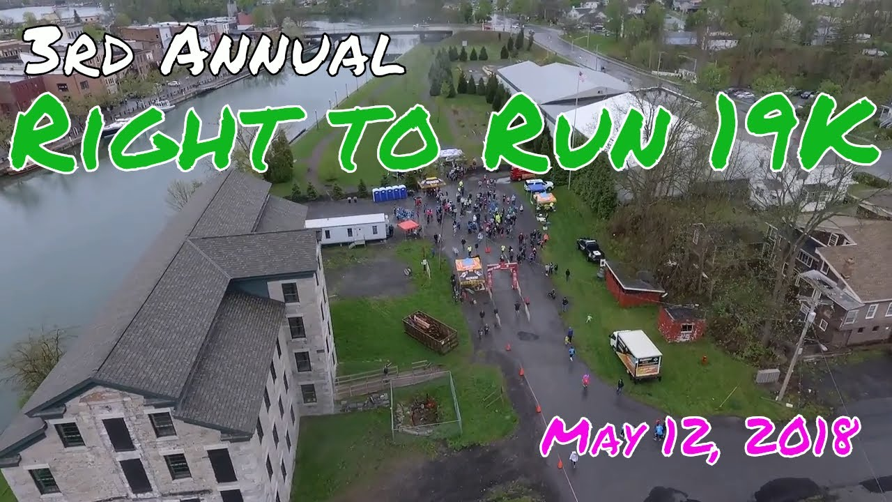 3rd Annual Right to Run 19K & 5K in Seneca Falls .::. Official Race Video