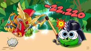 Angry Birds Epic - RED 22,220 DAMAGE REDUCE ARMOR EPIC!