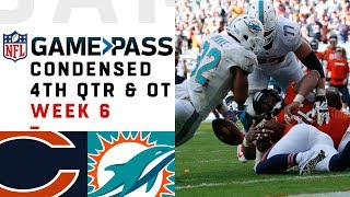 Bears vs. Dolphins Full 4th Quarter & OT | Week 6 NFL Game Pass