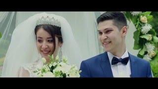 Свадебный клип. Темур и Парвина. Светская таджикская свадьба.