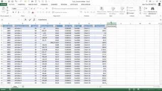 Excel  - Comment convertir des données de type texte au bon format numérique.