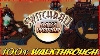 Switchball :: LAVA WORLD :: ALL Levels [100% walkthrough]