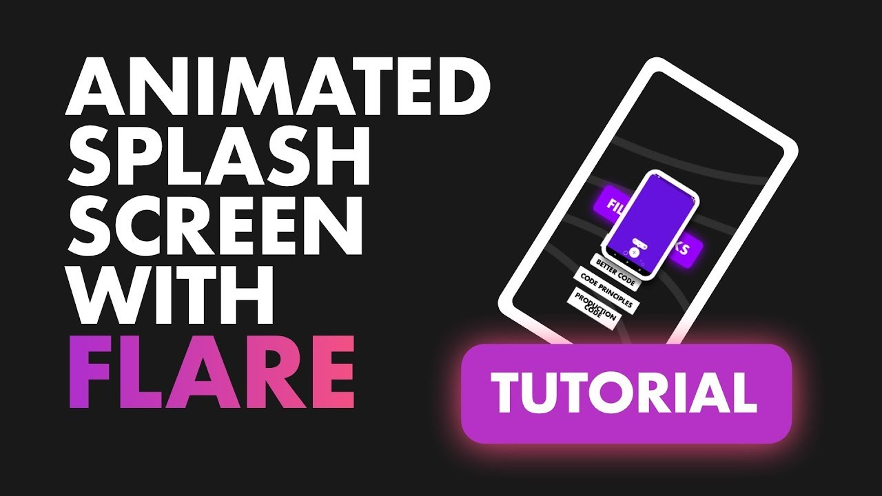Flutter Animated Splash screen with Flare - FilledStacks