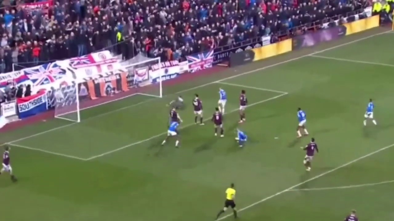 Download Jambos defeat Gers!   Hearts vs Rangers   All Goals + Highlights!