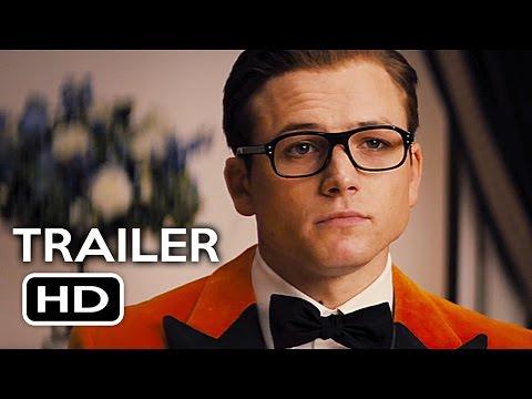 Kingsman 2: The Golden Circle Official Trailer #1 (2017) Taron Egerton Action Movie HD