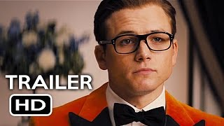 Kingsman 2 The Golden Circle Official Trailer 1 2017 Taron Egerton Action Movie HD