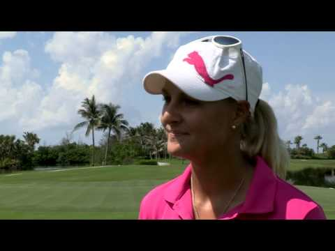 Anna Nordqvist's First Round Interview at the 2013 Pure Silk-Bahamas LPGA Classic