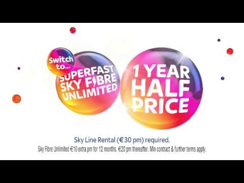 Sky Fibre advert with Joy from Inside Out (Ireland) - YouTube