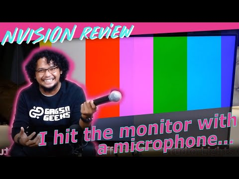 """NVISION IP24V1 Budget PC 24"""" IPS Monitor Review (Color, Durability, Etc.) After Months Of Usage"""