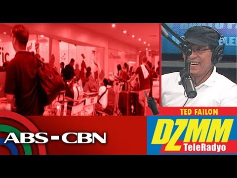 Manila Airport Closes For 12 Hours Due To Tisoy | DZMM