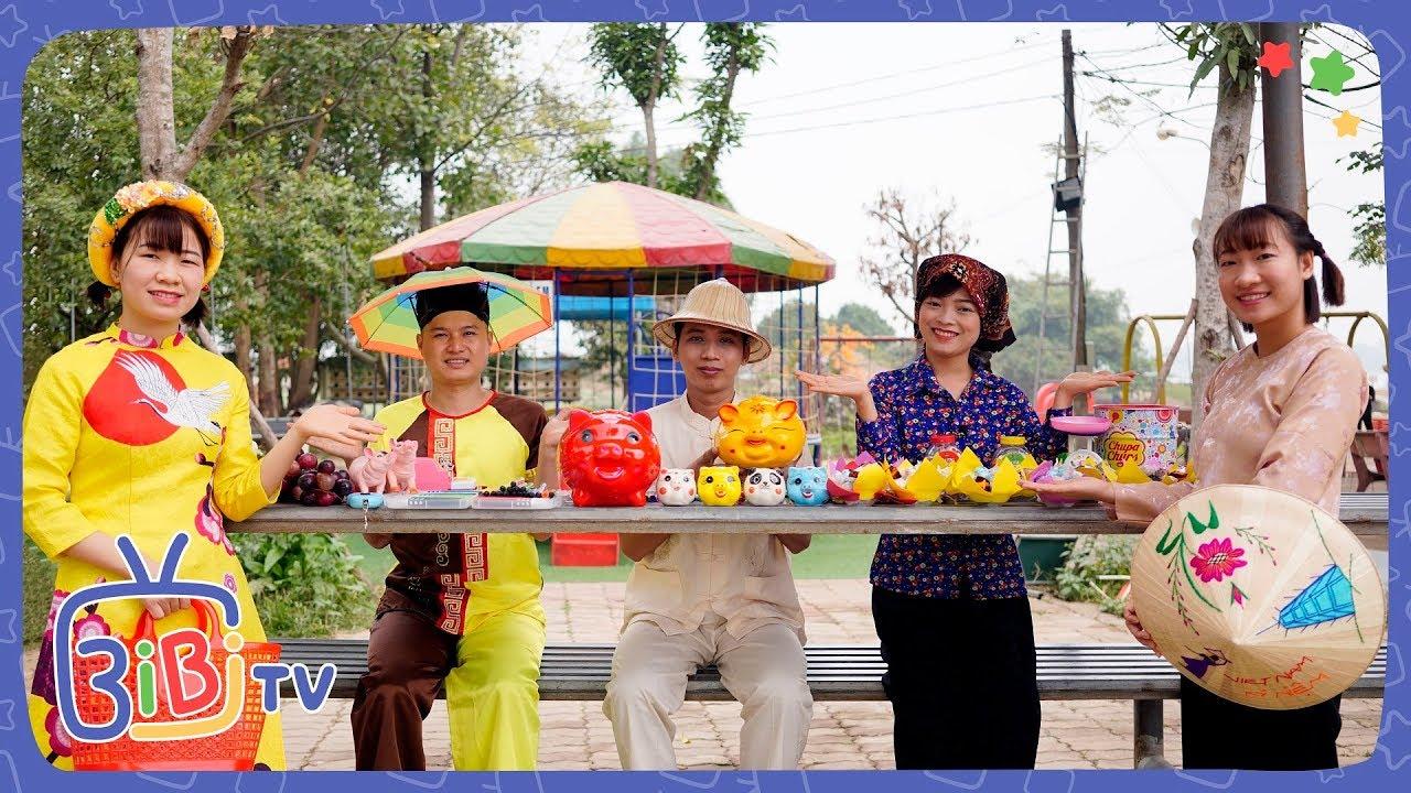 Trò Chơi Bà Tuyết Đi Chợ Bán Lợn ❤ BIBI TV ❤