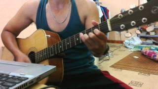 Vết mưa - Guitar cover
