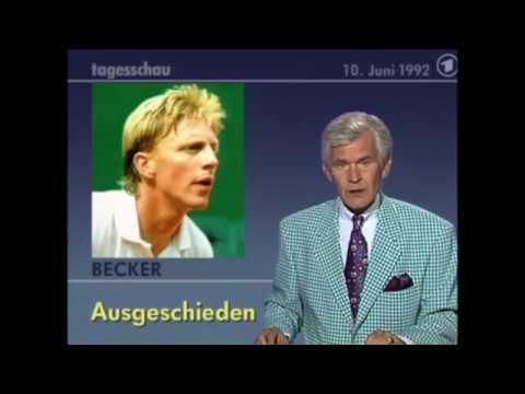 Tennis in der ARD-Tagesschau 1992 - Teil 2