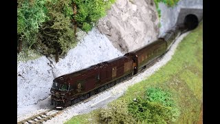 【第9回鉄道模型運転会】ななつ星、スノーラビット、500系キティちゃん、タキ43000試運転など