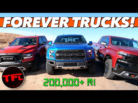 These Are The Top 15 Trucks And SUVs That Will Last Forever!