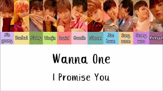 Wanna One - I Promise You [Lyrics Han | Rom | Indo] Lirik Terjemahan Indonesia