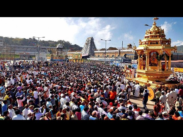devotees flood tirumala due to holiday seasons and exam finishes - ttd rush ttd devotees latest info on rush today - tnilive - telugu news international - telugu devotional news