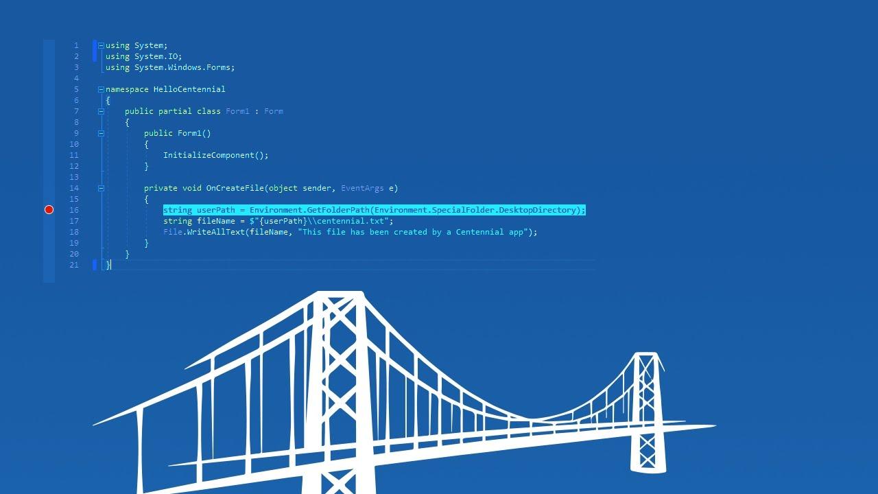 MSIX Packaging ∙ Desktop Bridge
